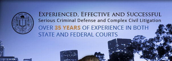 Over 35 years of experience in both state and federal courts